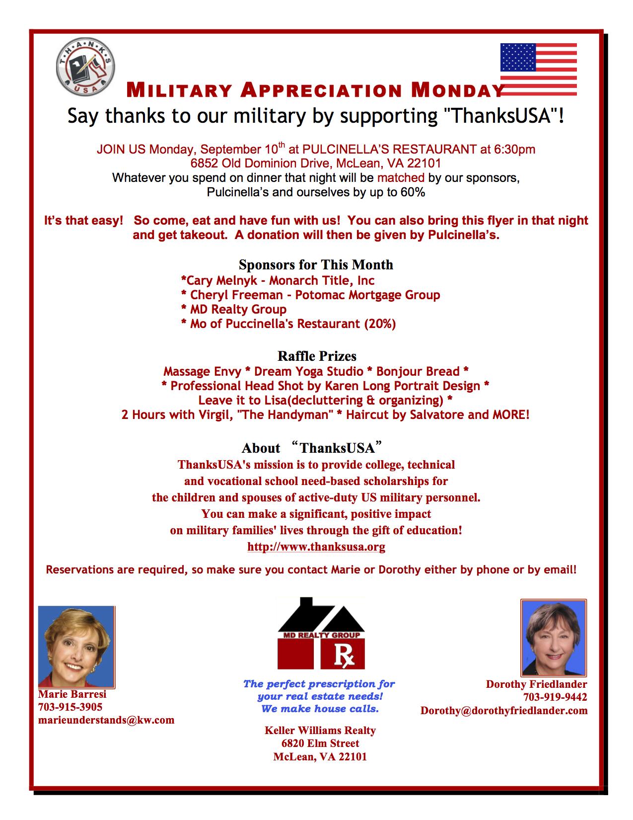 military appreciation   ThanksUSA Blog