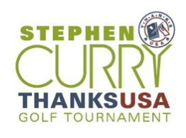 Stephen Curry 3rd Annual ThanksUSA Golf Tournament-1